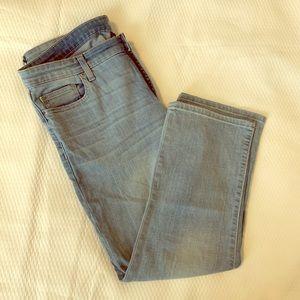 Gap crop kick 3/4 jeans